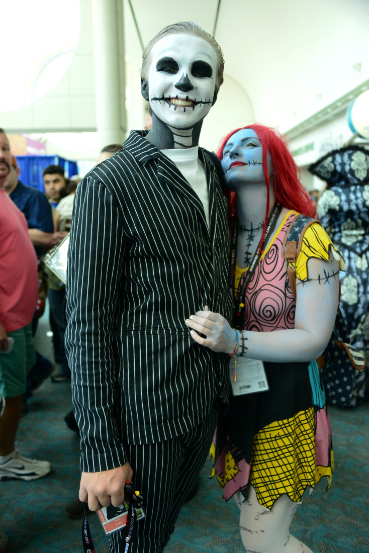 Jack Skellington and Sally from The Nightmare Before Christmas ...