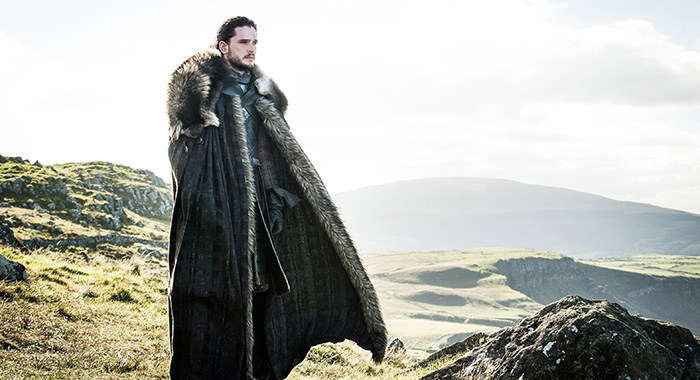 Game of Thrones, s7ep3 - Kit Harington as Jon Snow – Photo: Helen Sloan/HBO