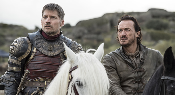 Game of Thrones - Jaime Lannister, Bronn (Macall B. Polay/HBO )
