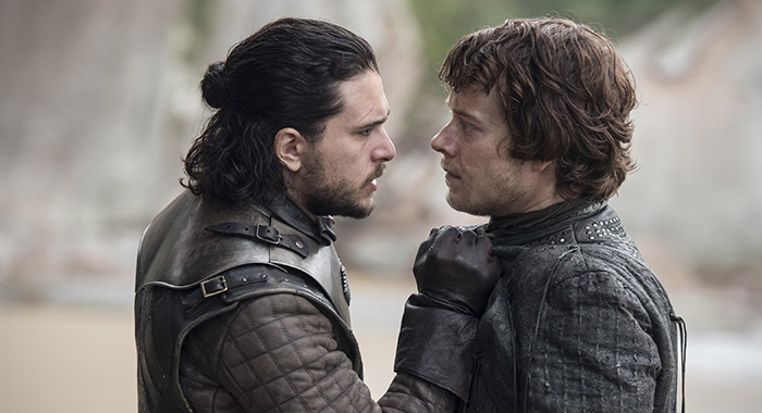 Game of Thrones - Kit Harington, Alfie Allen (Macall B. Polay/HBO )