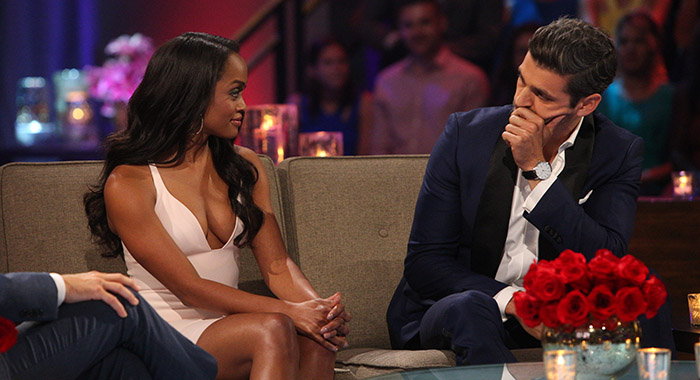 "RACHEL LINDSAY, PETER KRAUS ""The Bachelorette: The Three Hour Live Finale"" (ABC/Paul Hebert)"