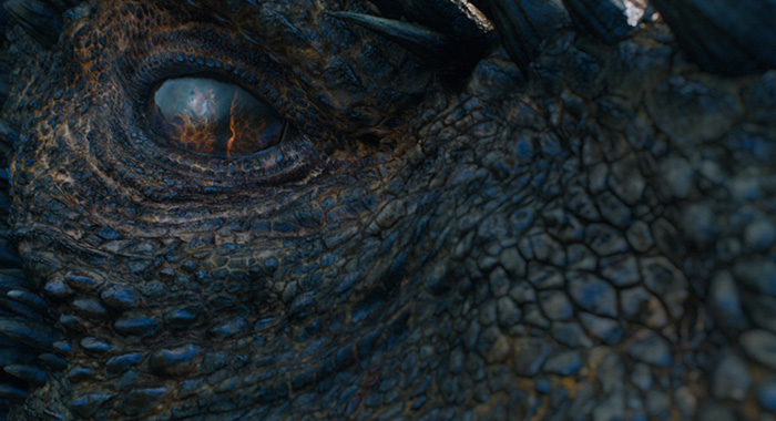 "Drogon in Game of Thrones season 7 ""Eastwatch"" (Macall B. Polay/HBO)"