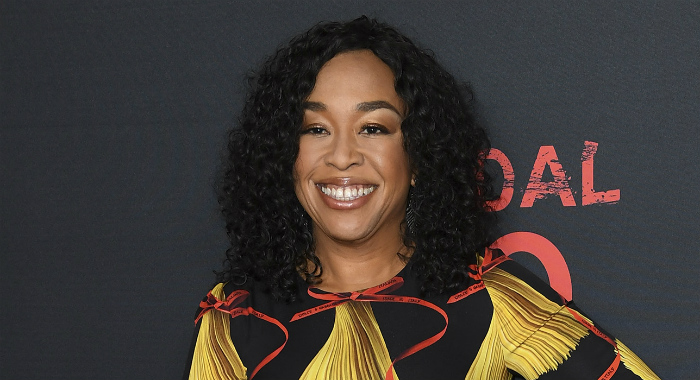 "Producer Shonda Rhimes attends ABC's ""Scandal"" 100th Episode Celebration at Fig & Olive on April 8, 2017 in West Hollywood, California. (Photo by David Livingston/Getty Images)"