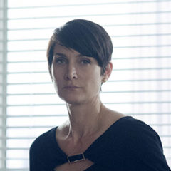 Carrie-Anne Moss in Marvel's Jessica Jones (Myles Aronowitz/Netflix)