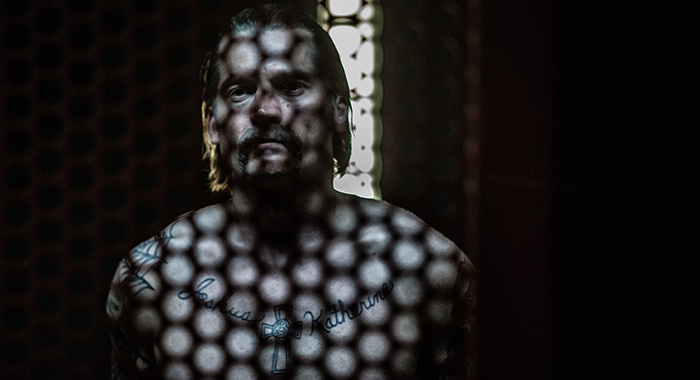 Nicolaj Coster-Waldau in Shot Caller (Courtesy of Saban Films)