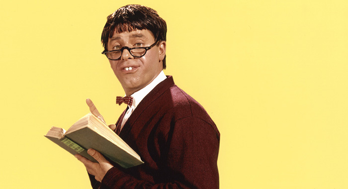 THE NUTTY PROFESSOR, Jerry Lewis, 1963. (Courtesy Everett Collection)