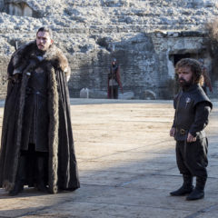 Kit Harington, Peter Dinklage in Game of Thrones season 7 finale (Macall B. Polay/HBO)