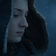 Sophie Turner as Sansa Stark in Game of Thrones season 7 finale (HBO)