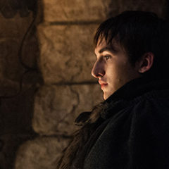 Isaac Hempstead-Wright as Bran Stark in Game of Thrones season 7 finale (Helen Sloan/HBO)