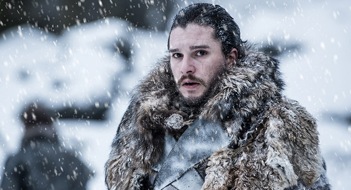 Game of Thrones - season 7 - Kit Harington as Jon Snow (Helen Sloan/HBO)