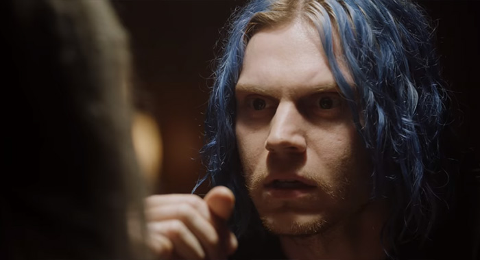 Evan Peters, American Horror Story: Cult; AHS trailer screencap (FX)