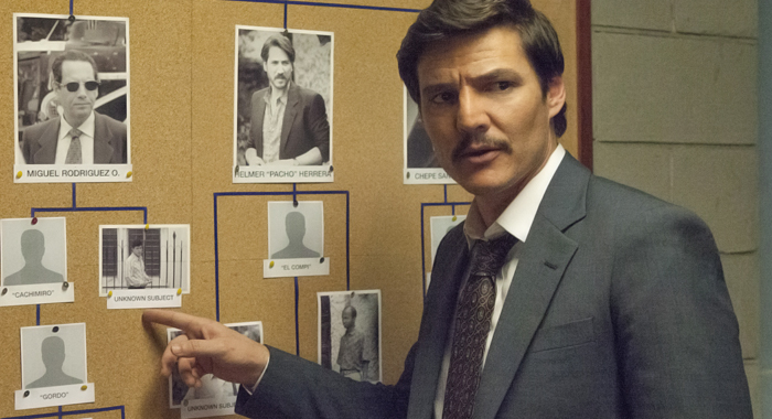 Pedro Pascal in Narcos (Netflix)