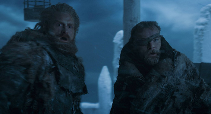 Tormund and Beric Game of Thrones, season 7, episode 7 (Courtesy of HBO)