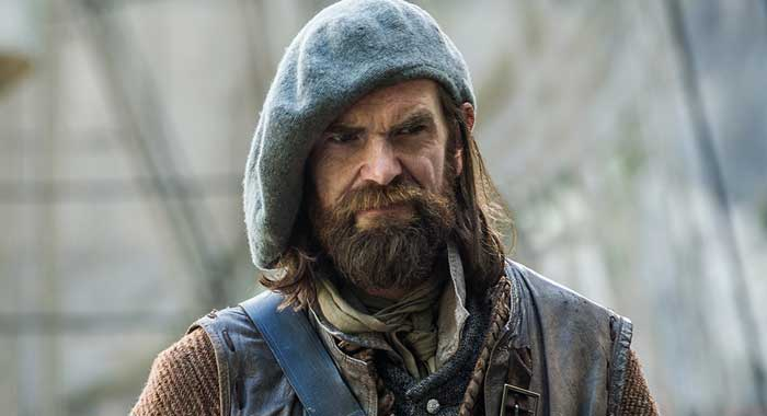 Duncan Lacroix in Outlander season 2 (Starz)