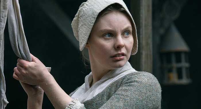 Nell Hudson in Outlander season 2 (Starz)