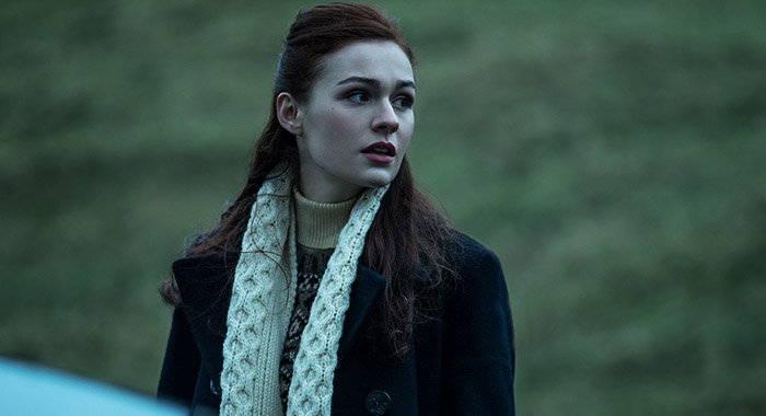 Sophie Skelton in Outlander season 2 (Starz)