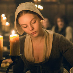 Nell Hudson in Outlander Season 2 2016 (Starz)