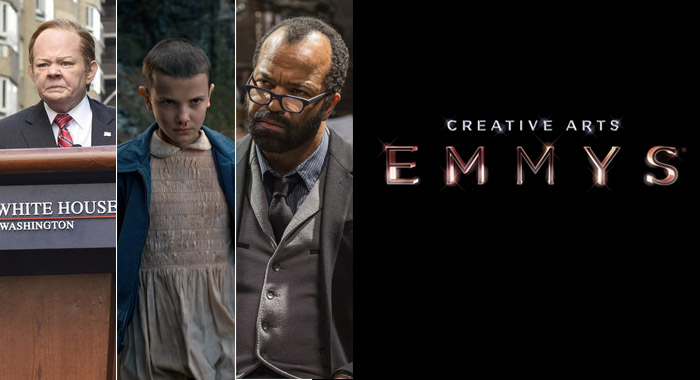 Saturday Night Live, Stranger Things and Westworld were big winners in the 2017 Creative Arts Emmy Awards (NBC; Netflix; HBO)