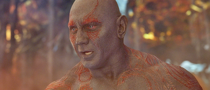 Dave Bautista in Guardians of the Galaxy Vol. 2