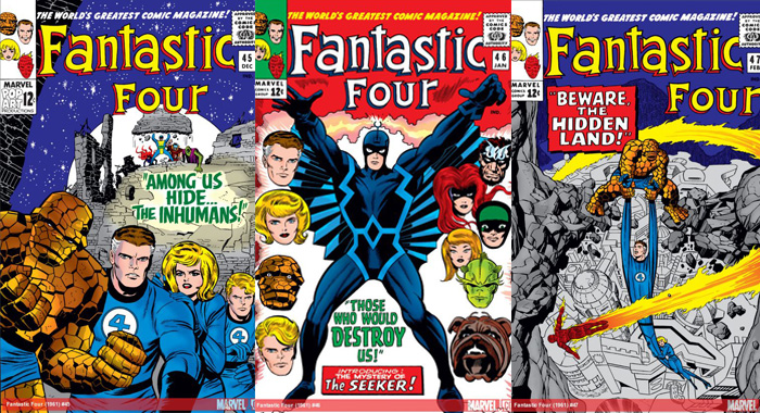 Fantastic Four comic books (Marvel)
