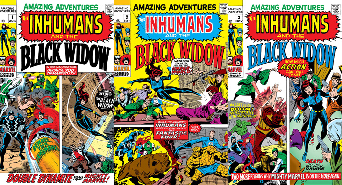 Amazing Adventures comic books (Marvel)