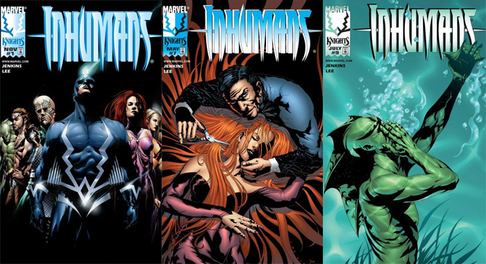 Inhumans comic books (Marvel)