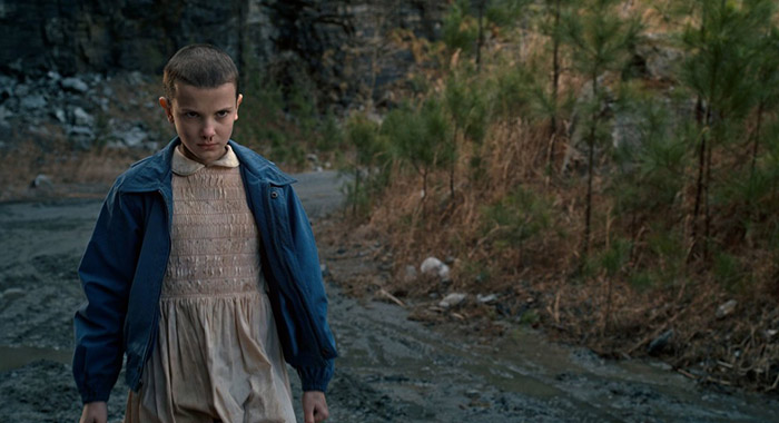 Stranger Things season 1, Millie Bobby Brown as Eleven (Netflix)