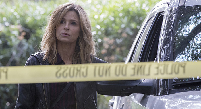 KYRA SEDGWICK in TEN DAYS IN THE VALLEY (ABC/Paul Sarkis)