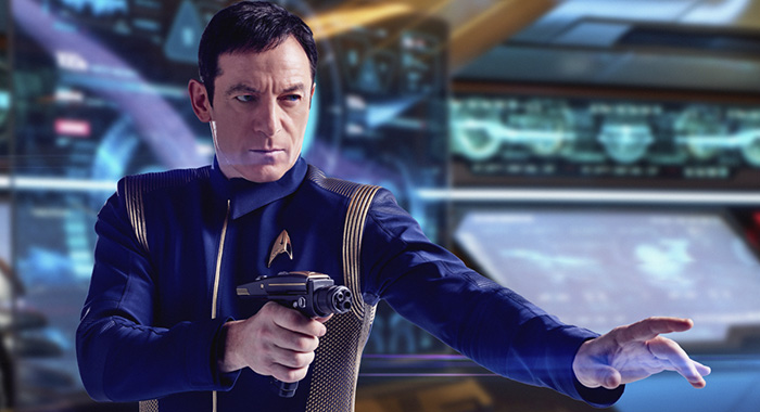 STAR TREK: DISCOVERY - Jason Isaacs as Captain Gabriel Lorca (James Dimmock / CBS)