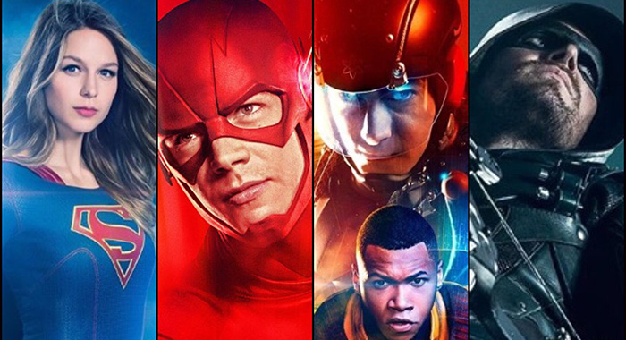 Supergirl, Flash, Legends of Tomorrow, Arrow (The CW)