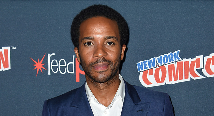 Andre Holland attends the Castle Rock press room at 2017 New York Comic Con on October 8, 2017 (Nicholas Hunt/Getty Images)