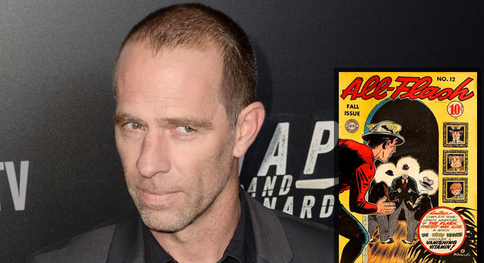 Neil Sandilands; All-Flash comics (Andrew Toth/Getty Images; DC Comics)