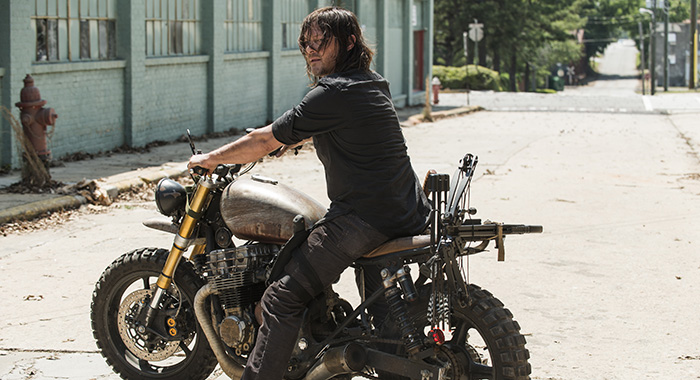Norman Reedus as Daryl Dixon - The Walking Dead (Gene Page/AMC)