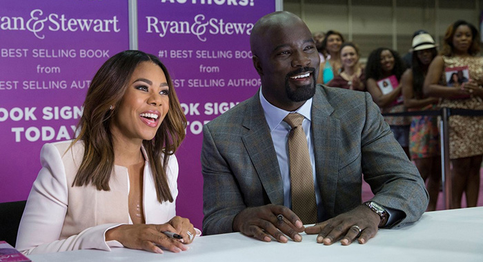 Girls Trip stars Regina Hall and Mike Colter (Universal Pictures)