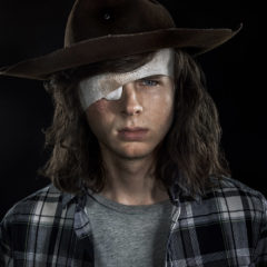 Chandler Riggs as Carl Grimes - The Walking Dead _ Season 8, Gallery - Photo Credit: Frank Ockenfels 3/AMC