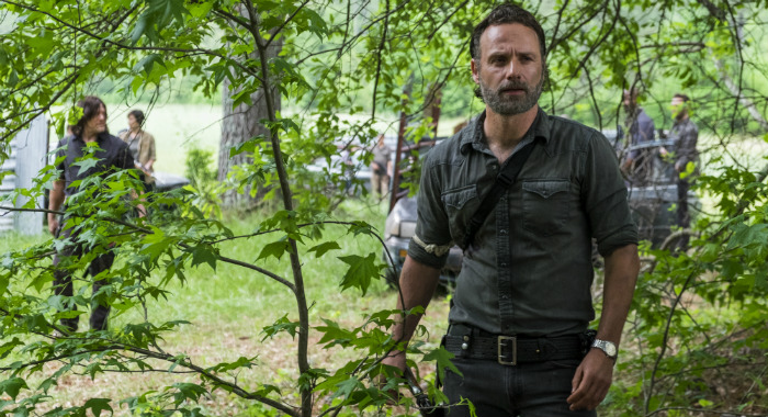 The Walking Dead Andrew Lincoln as Rick season 8 (AMC)