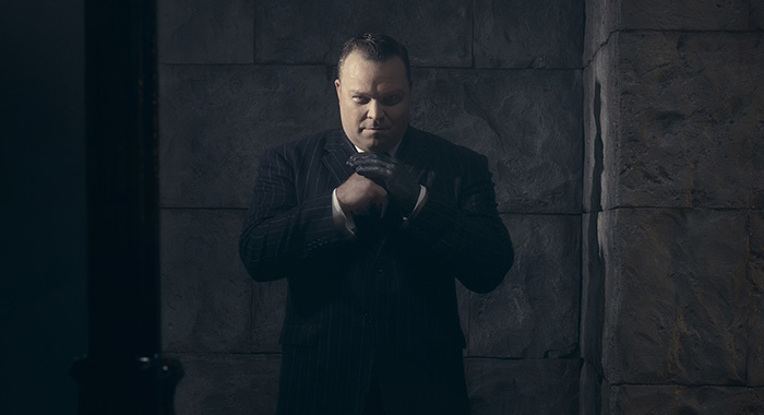 Drew Powell. Season 2 of GOTHAM (Kevin Lynch/FOX)