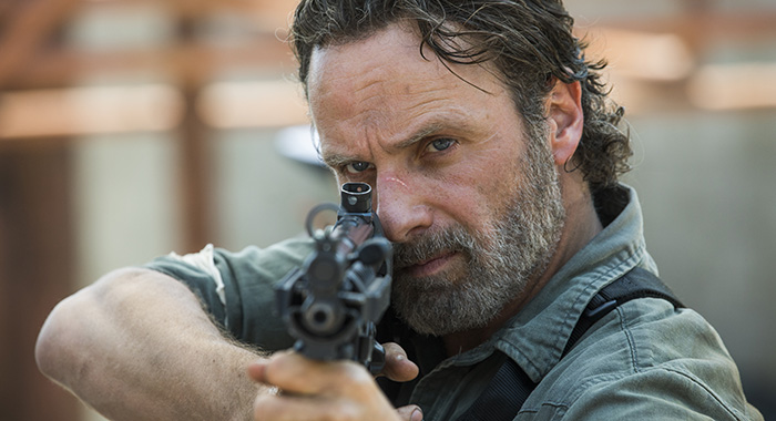 Andrew Lincoln as Rick Grimes - The Walking Dead _ Season 8, Episode 1 (Jackson Lee Davis/AMC)
