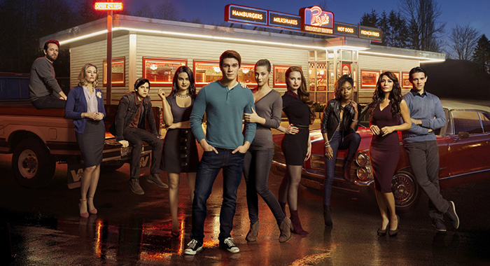 Riverdale cast (Art Streiber/The CW)
