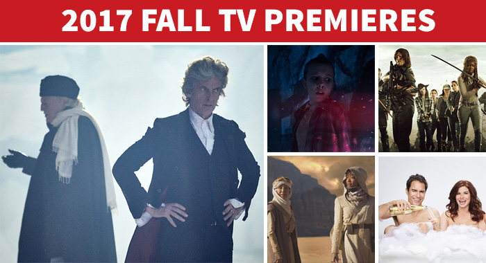 Doctor Who, Stranger Things 2, Walking Dead, Will and Grace, Star Trek: Discovery (BBC America/AMC/NBC/CBS)