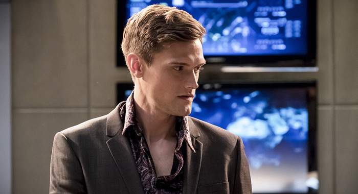 """The Flash -- """"Girls Night Out"""" Hartley Sawyer (Katie Yu/The CW)"""