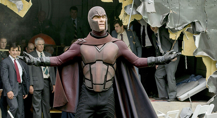 X-MEN: DAYS OF FUTURE PAST: Michael Fassbender as Magneto (20th Century Fox Film Corp./courtesy Everett Collection)