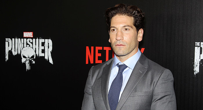 Jon Bernthal attends Marvel's 'The Punisher' Season 1 New York Premiere Screening (Marion Curtis / StarPix for Netflix)