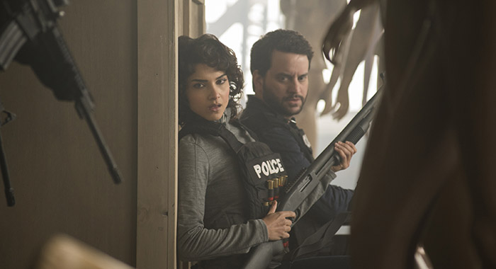 Marvel's The Punisher - Amber Rose Revah, Michael Nathanson (Nicole Rivelli/Netflix)