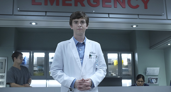 THE GOOD DOCTOR - FREDDIE HIGHMORE (ABC/Eike Schroter)