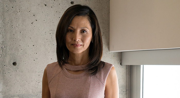 THE GOOD DOCTOR - TAMLYN TOMITA (ABC/Liane Hentscher)