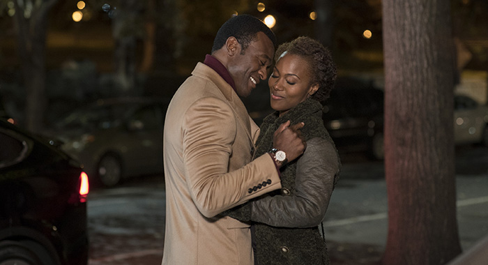 She's Gotta Have It - Lyriq Bent and DeWanda Wise (David Lee/Netflix)