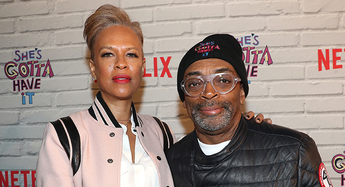 "Tonya Lewis Lee and Spike Lee attends Netflix Original Series ""She''s Gotta Have It"" Premiere 11/11/16 in New York (Johnny Nunez/Getty Images for Netflix)"