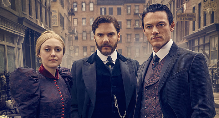 The Alienist season 1 - Dakota Fanning, Daniel Brühl, Luke Evans (TNT)