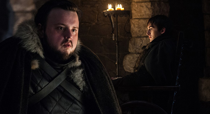Game of Thrones: John Bradley, Isaac Hempstead Wright. photo: Helen Sloan/courtesy of HBO